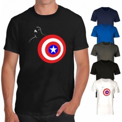 T-shirt Capitan America style