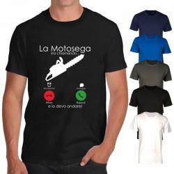 T-shirt la motosega sta...