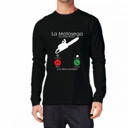 T-shirt manica lunga la...