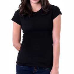 T-shirt donna basic in...