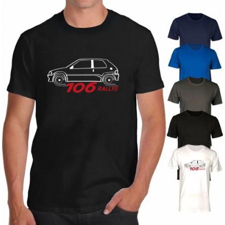 T-SHIRT RALLY AUTO SPORT CIRCUITO WRC MOTOR ENDURANCE RACE