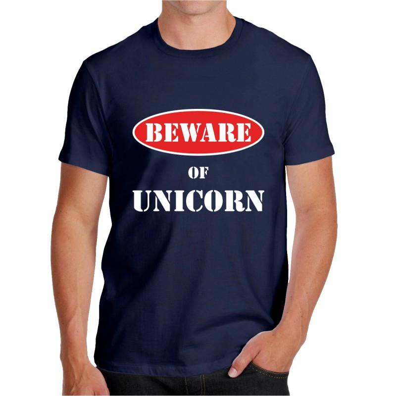 T-shirt Beware of Unicorn