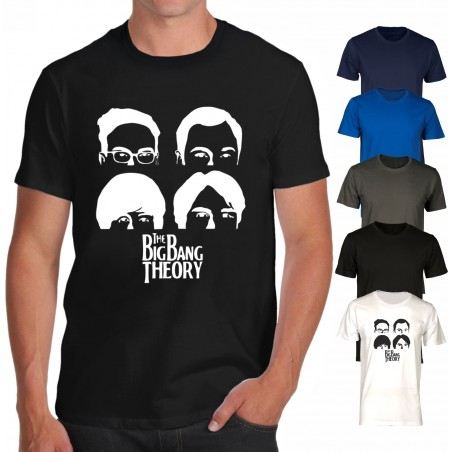 T-shirt Big Bang Theory - Beatles edition